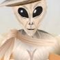 kat in an alien...
