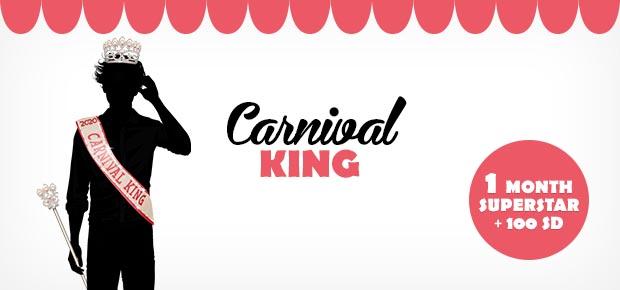 Stardoll Carnival King 2020 Winner + Featured Dolls