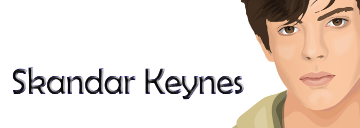 Dress up Skandar Keynes