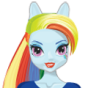 UK Rainbow Dash