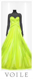 Volie Tube Evening Dress
